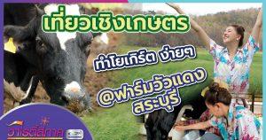 เที่ยวเชิงเกษตร ทำโยเกิร์ตง่ายๆ @ฟาร์มวัวแดง สระบุรี l วาไรตี้สี่ภาคl วิถีสี่ภาค EP.15